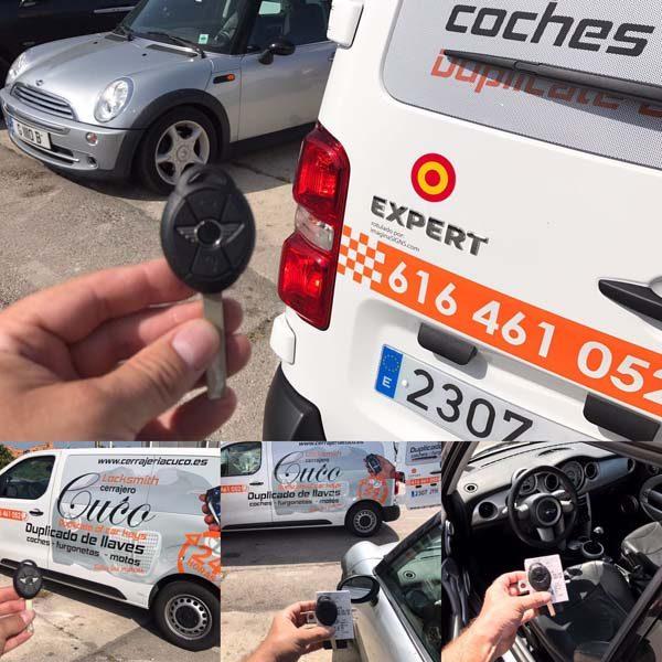 Duplicado de llaves de coche en San Pedro CUCO Cerrajero