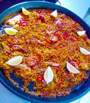 Paella Comida Casera para Llevar