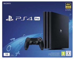 PlayStation 4 Pro Sony 1TB 1000GB Wifi Negro Videoconsola