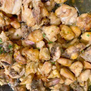 Pollo al Ajillo Comida Casera para Llevar