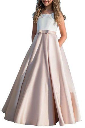 Vestidos de la primera comunión de las muchachas Princesa