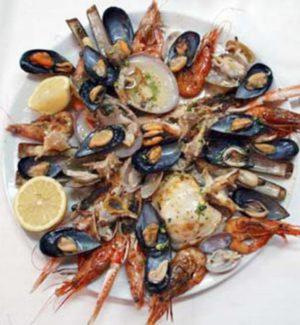 Restaurante Las Gitanillas Mariscada para dos personas